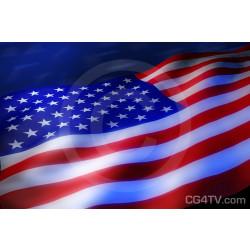 US  Flag Royalty Free High Resolution Image USA