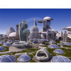 Future city picture