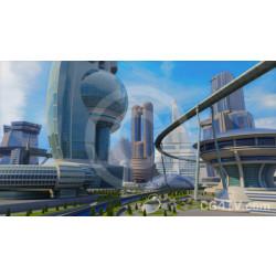 Futuristic City Streets