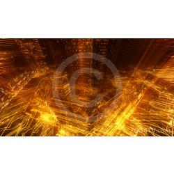 Golden Hieroglyphics Background