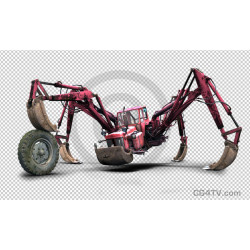 "Monster ""Tractor-Spider-Crab"" Image"