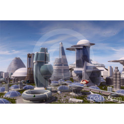 Future city Image