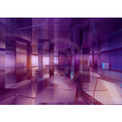 Abstract Glass Columns