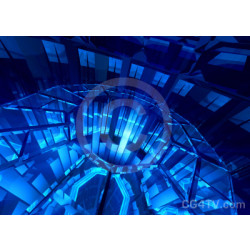 Abstract Glass Stargate