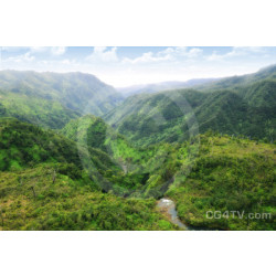 Kauai Green Mountains Photo