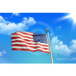 USA Flag Photo