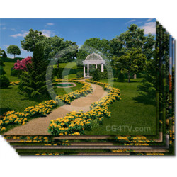 Gazebo Virtual Set