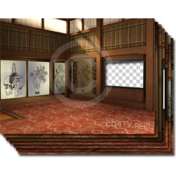 Oriental Virtual Background
