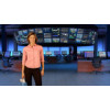 Camera 2. Financial News Virtual Set