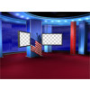 Political News Virtual Set -- Camera 10