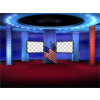 Political News Virtual Set -- Camera 8