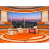 Talk Show Virtual Set Orange -- Camera 2