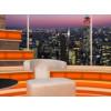 Talk Show Virtual Set Orange -- Camera 6
