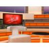 Talk Show Virtual Set Orange -- Camera 7
