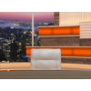 Talk Show Virtual Set Orange -- Camera 8
