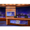 News Virtual Studio Set for two anchors -- Camera 8