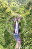 Waterfall in Hawaii Photo