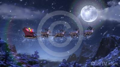 Christmas Animated Background