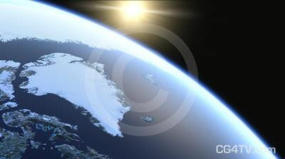 Greenland Ice Cap Melting Global Warming