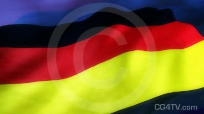 German Flag 3D Animation
