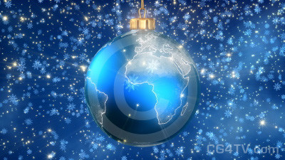 Animated Christmas Tree Ball