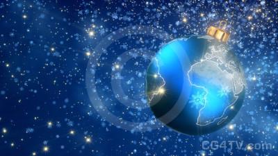 Christmas Ball 3D Animation