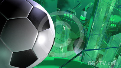 Football / Soccer Background Animation