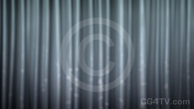 Silver Curtain Animation
