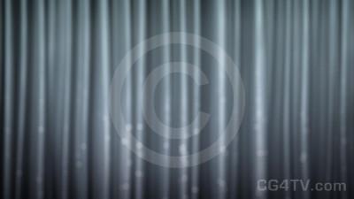 Silver Curtain Animation