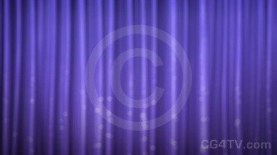 Sparkling Curtain Animation Loop
