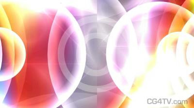 Refracted Bubbles Animated Background