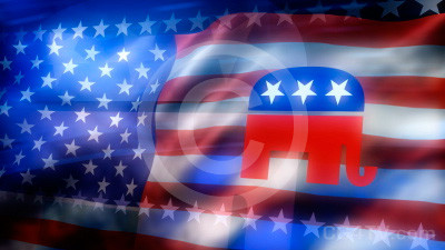 Republican Logo Background