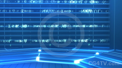 Matrix Studio Animated Background -- Camera 3