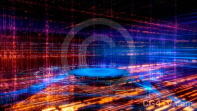 Cyberspace Virtual Set -- Camera 1