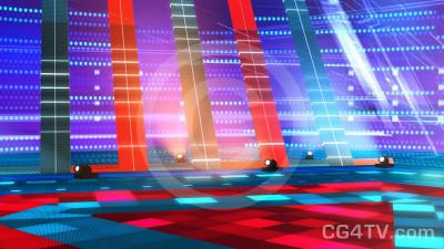 Dance Stage Virtual Set -- Camera 5