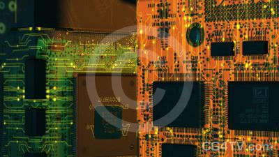 Inside PC Animated Virtual Set -- Camera 6A