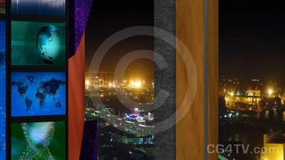 Multi Screen Animated News Set 3