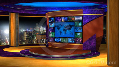 Multi Screen Animated News Set 4