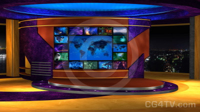 Multi Screen Animated News Set 7