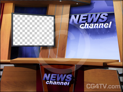 free test download virtual news studio background with desk